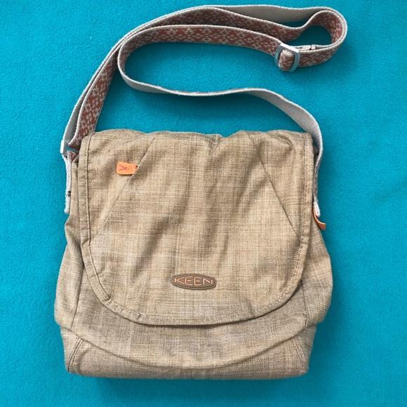 78437ad150f Keen Bags   Brooklyn Ii Beige Fabric Adjustible Strap Bag   Poshmark